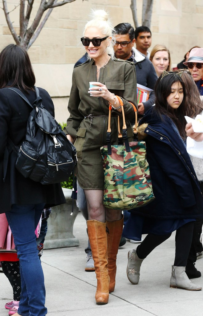 Gwen Stefani is seen on March 5, 2017 in Los Angeles.