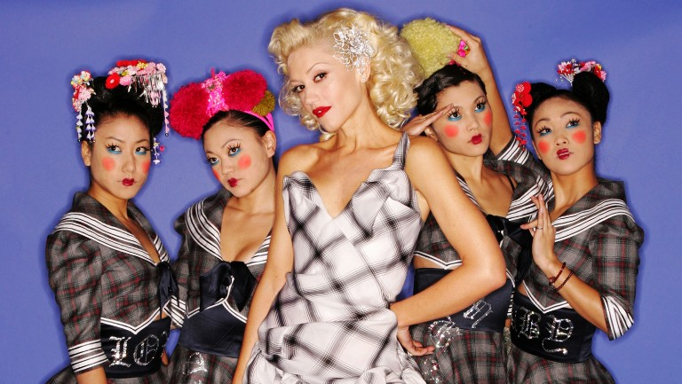 <p>Gwen Stefani and dancers The Harajuku Girls pose for a portrait during the 2004 Billboard Music Awards at the MGM Grand Garden Arena on Dec. 8, 2004 in Las Vegas.&nbsp&#x3B;</p>
