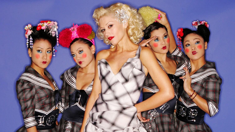 Gwen Stefani and dancers The Harajuku Girls