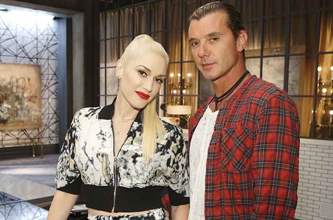 Gwen Stefani and Gavin Rossdale on The Voice