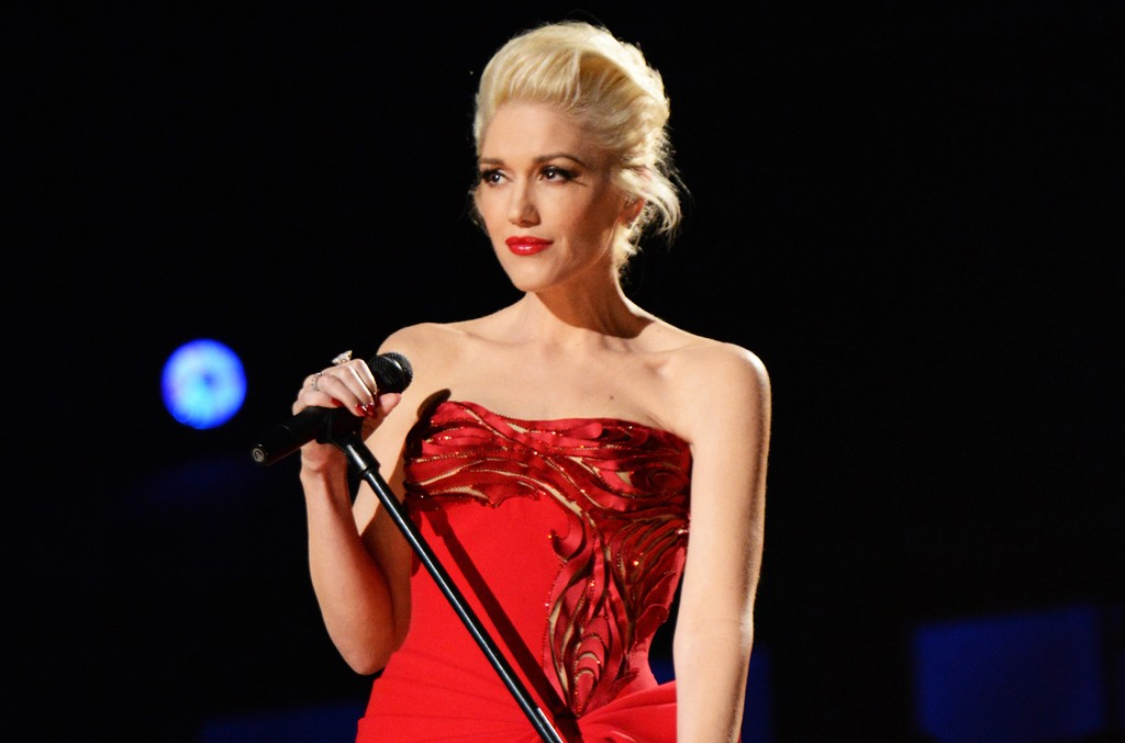 Gwen Stefani performs during The 57th Annual Grammy Awards at the Staples Center on Feb. 8, 2015 in Los Angeles.