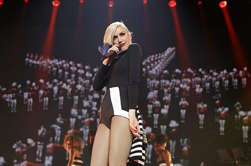 Gwen Stefani performs at Hammerstein Ballroom