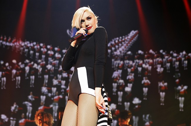 Gwen Stefani performs at Hammerstein Ballroom at the Manhattan Center on Oct. 17, 2015 in New York City.