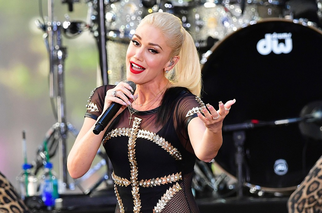Gwen Stefani performs on NBC's Today Show