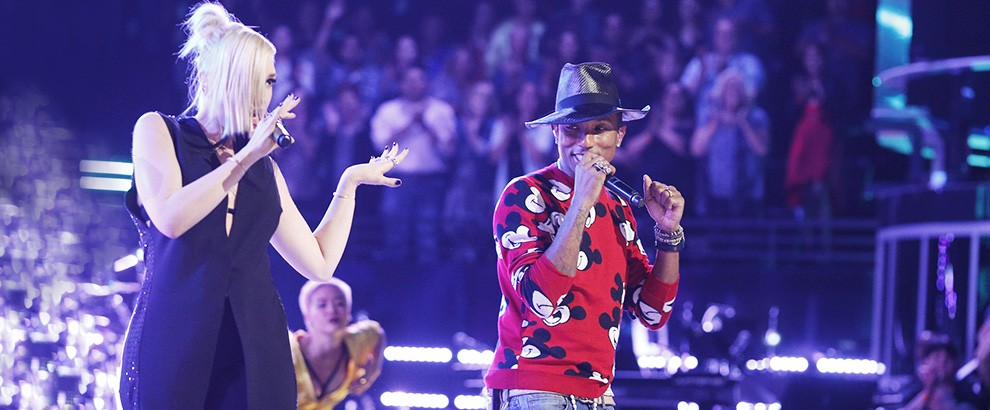 Gwen Stefani and Pharrell Perform on The Voice