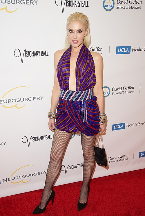 Gwen Stefani attends the 2015 UCLA Neurosurgery Visionary Ball