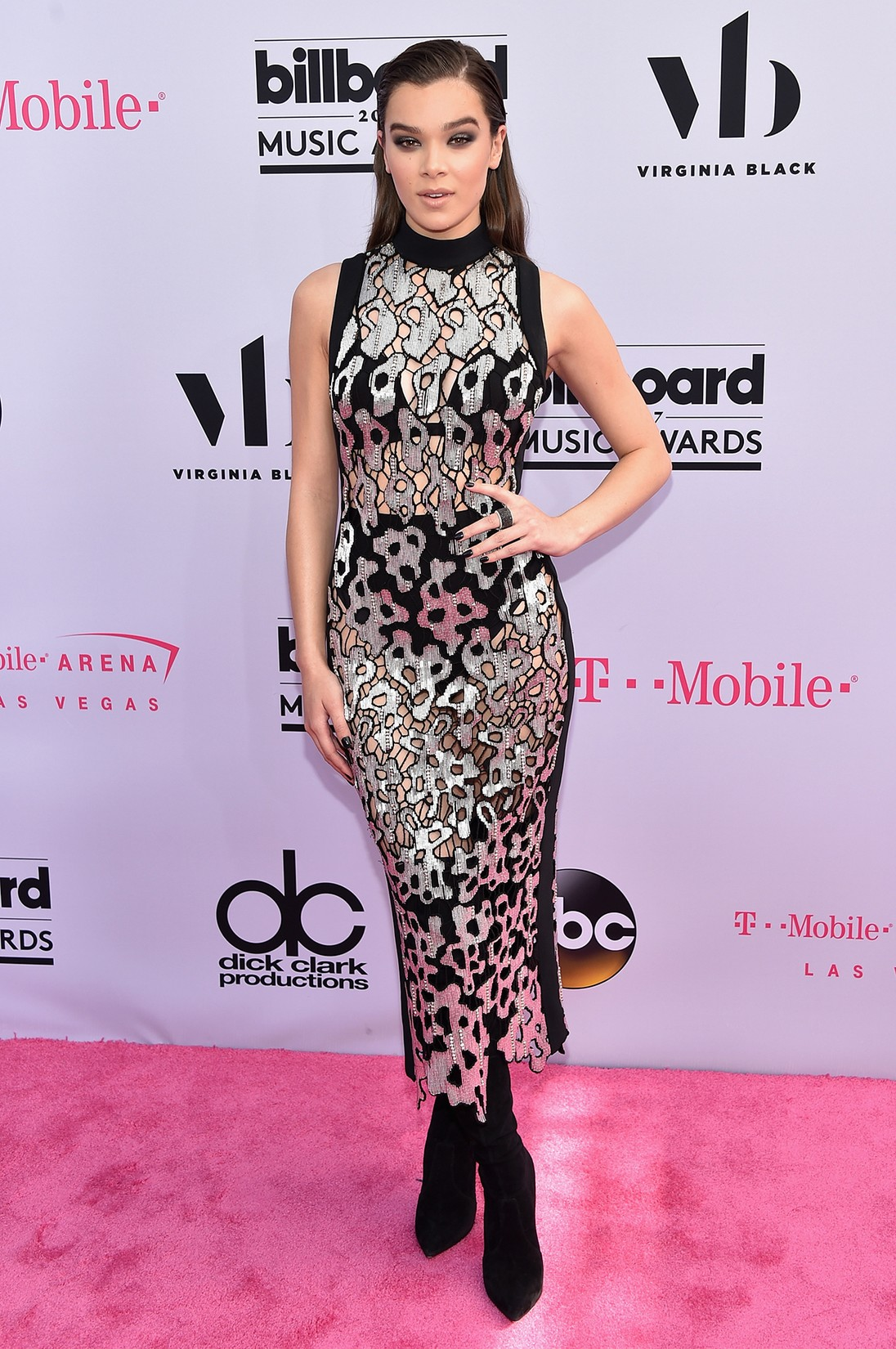 Hailee Steinfeld attends the 2017 Billboard Music Awards at T-Mobile Arena on May 21, 2017 in Las Vegas.