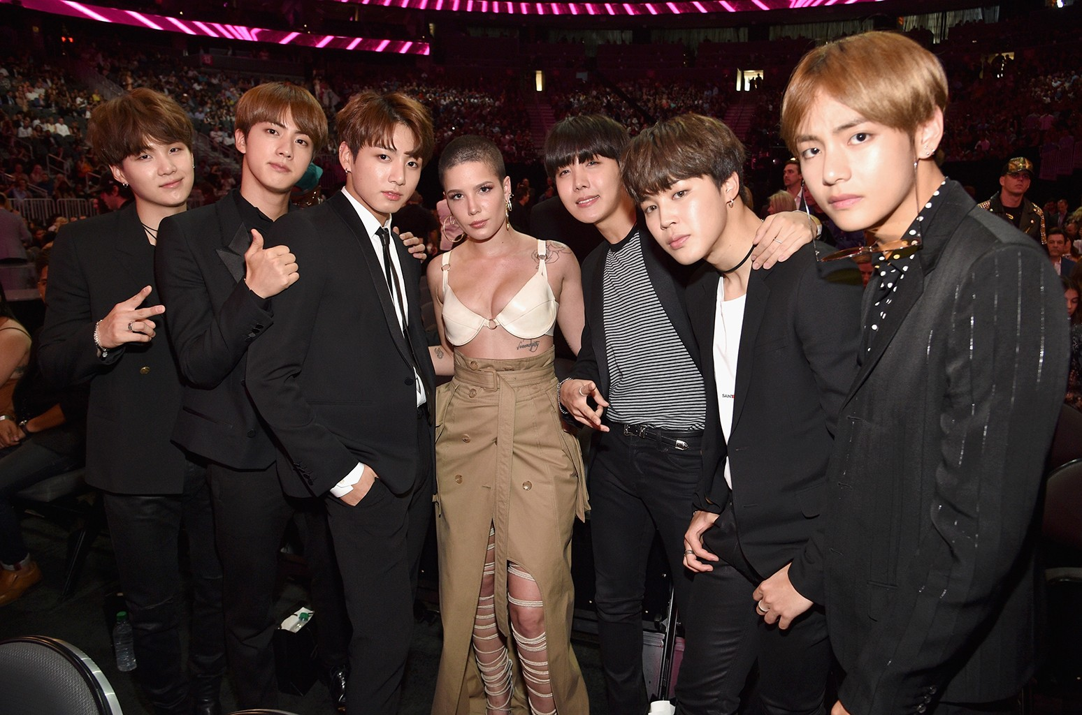 Every Time Halsey Proved She's a Member of the BTS ARMY   Billboard
