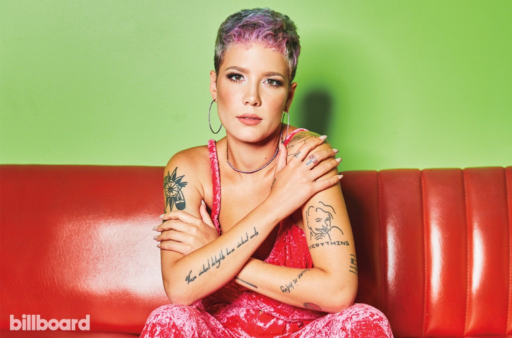 Halsey Shows Off New Hand Tattoo Honoring Juice WRLD: See the Pic - Billboard