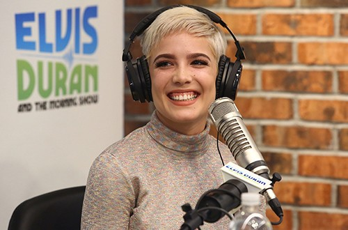 """Halsey performs during """"The Elvis Duran Z100 Morning Show"""""""
