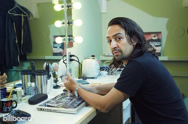 Broadway Hamilton 2015 Lin-Manuel Miranda