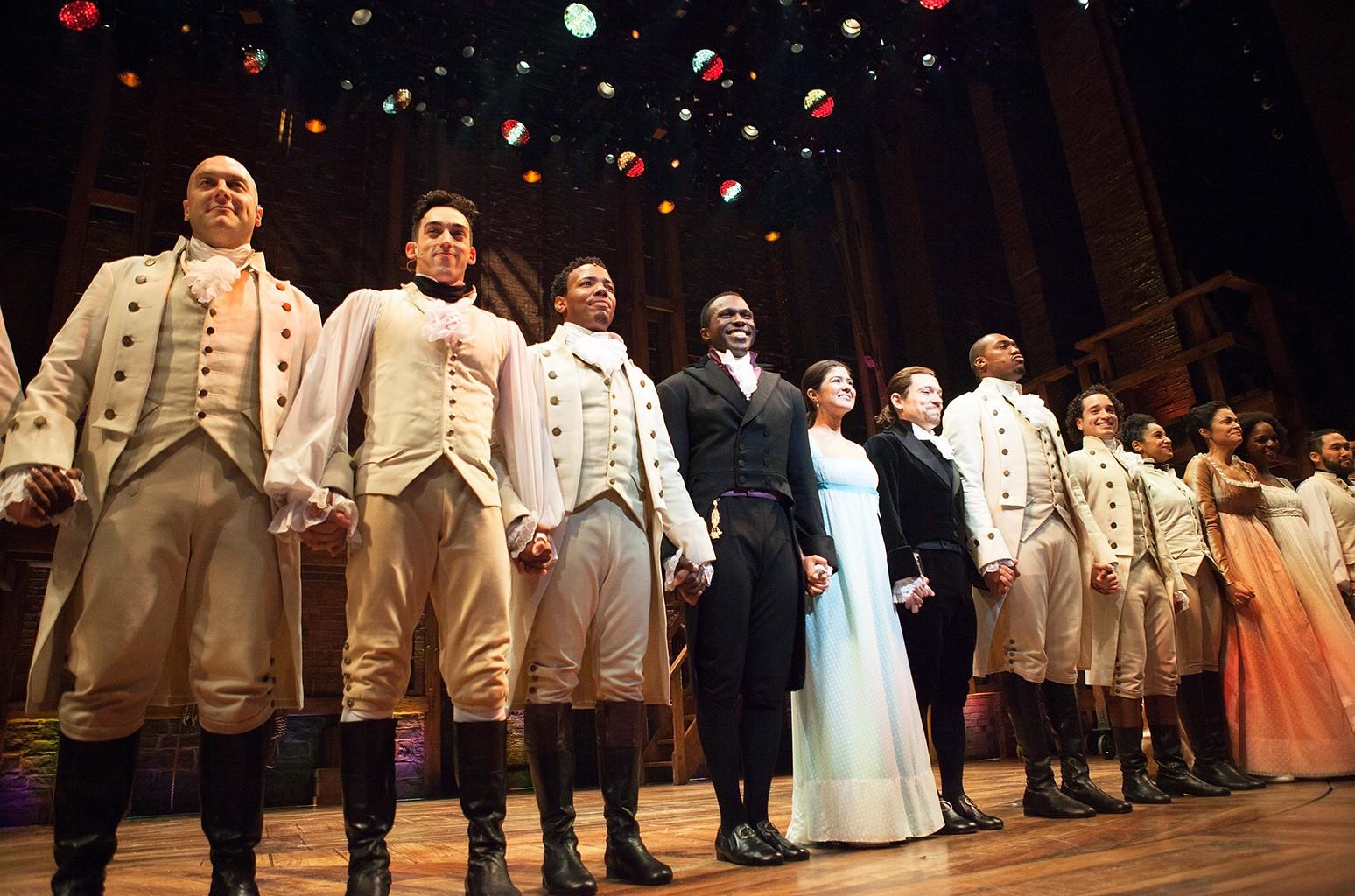 The cast of Hamilton Chicago