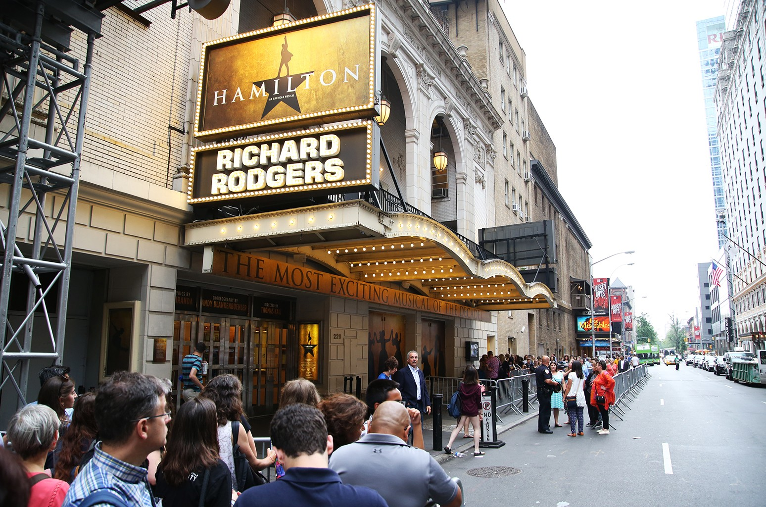 Richard Rodgers Theatre in New York City.