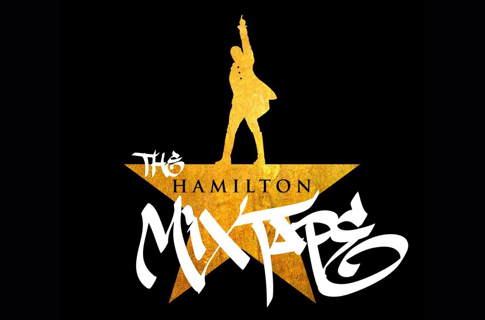 """The Hamilton Mixtape"" cover art."