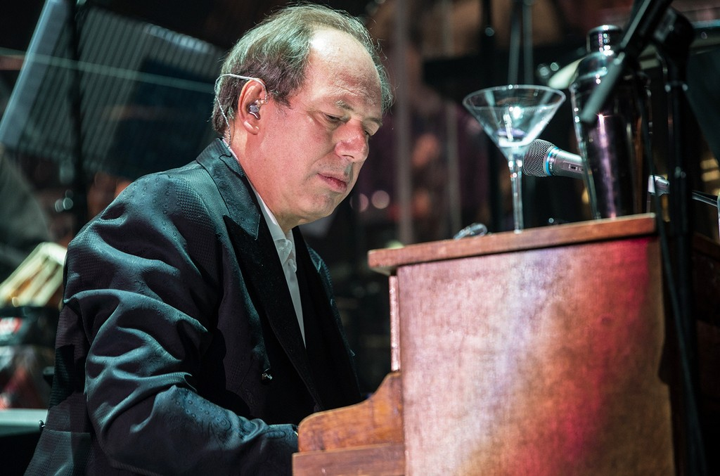 Hans Zimmer performs at SSE Arena on April 6, 2016 in London.