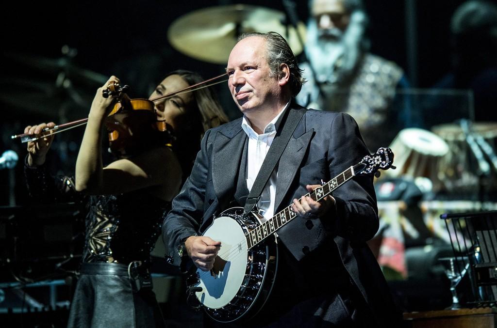 Hans Zimmer performs in 2016