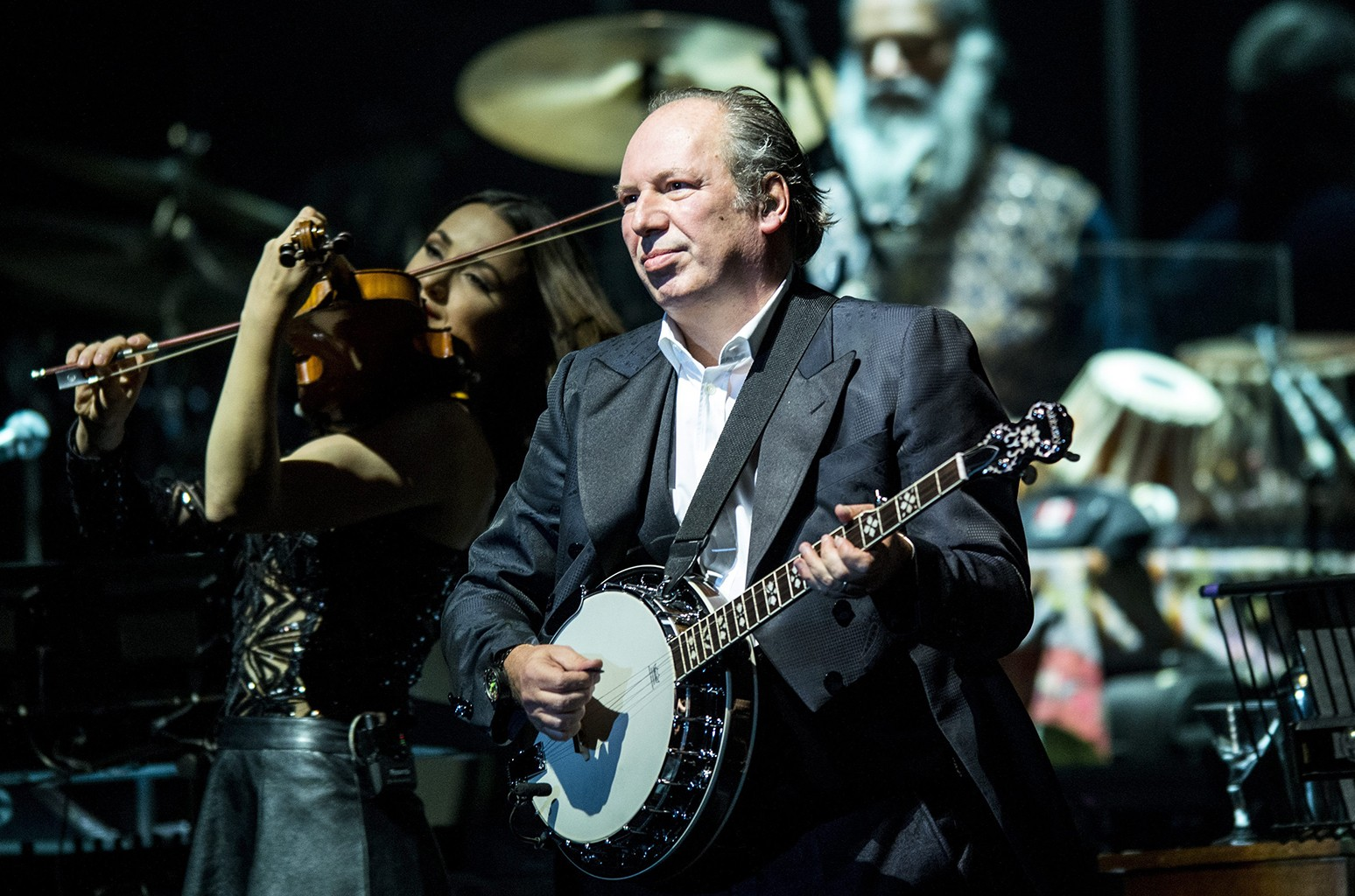 Hans Zimmer performs in 2016