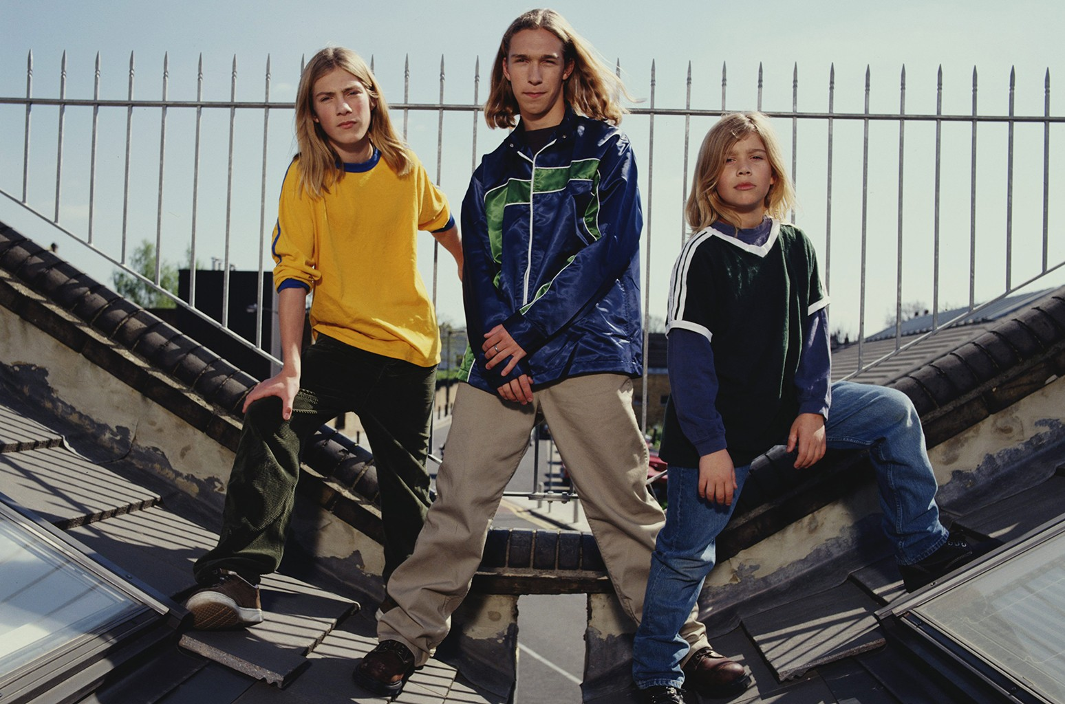 Hanson photographed in London in 1997.
