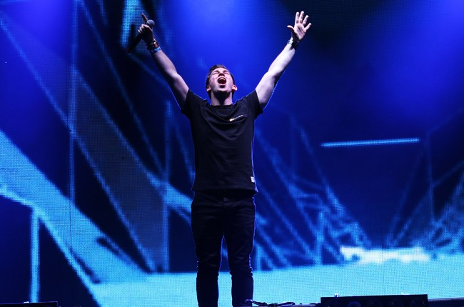 Hardwell performs at Ultra Music Festival