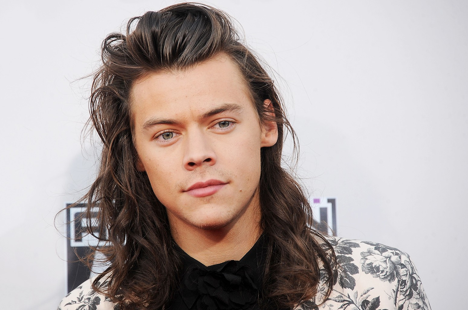 Harry Styles of One Direction arrives at the 2015 American Music Awards at Microsoft Theater on Nov. 22, 2015 in Los Angeles.