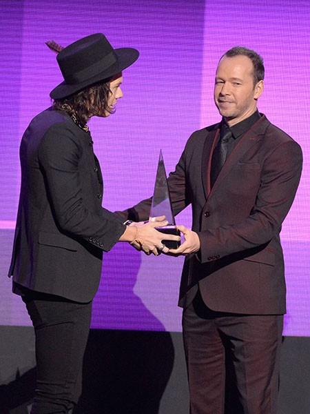 Harry Styles and Donnie Wahlberg
