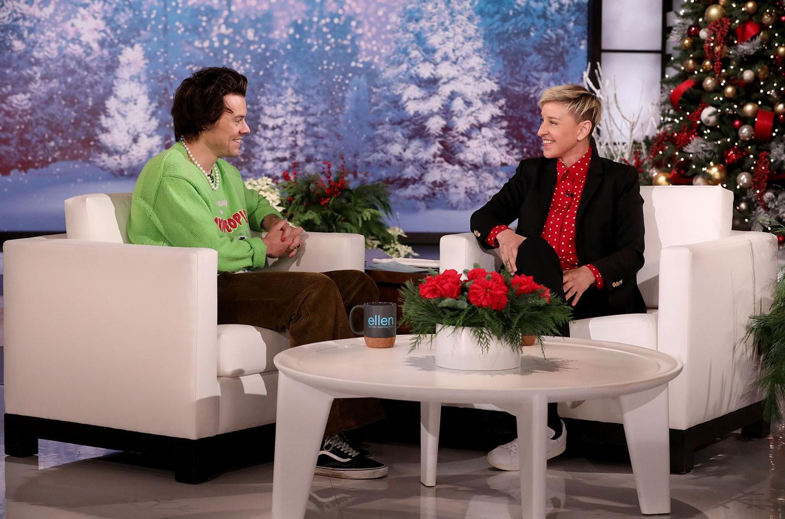 Harry Styles Ellen DeGeneres