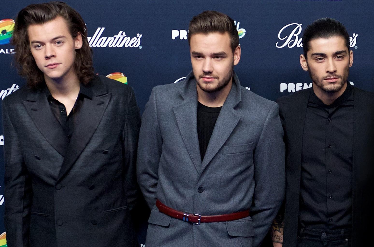 Harry Styles, Liam Payne & Zayn, 2014