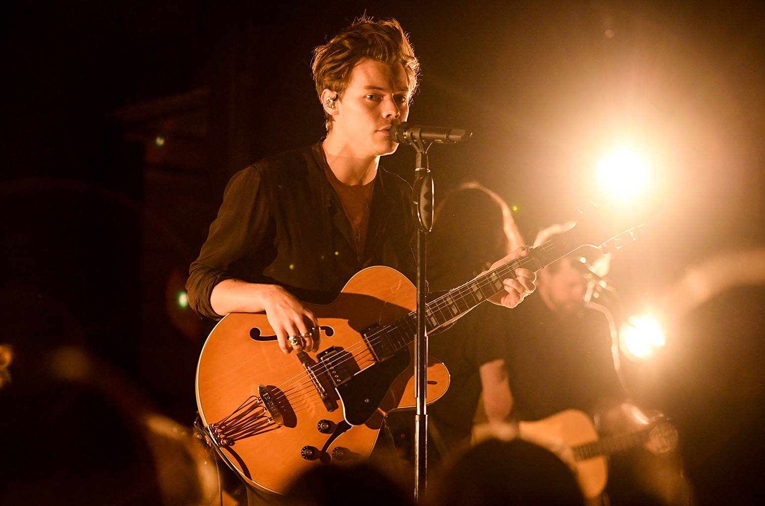 Harry Styles performs at the iHeartRadio Album Release Party on May 8, 2017 at Rough Trade NYC in New York City.