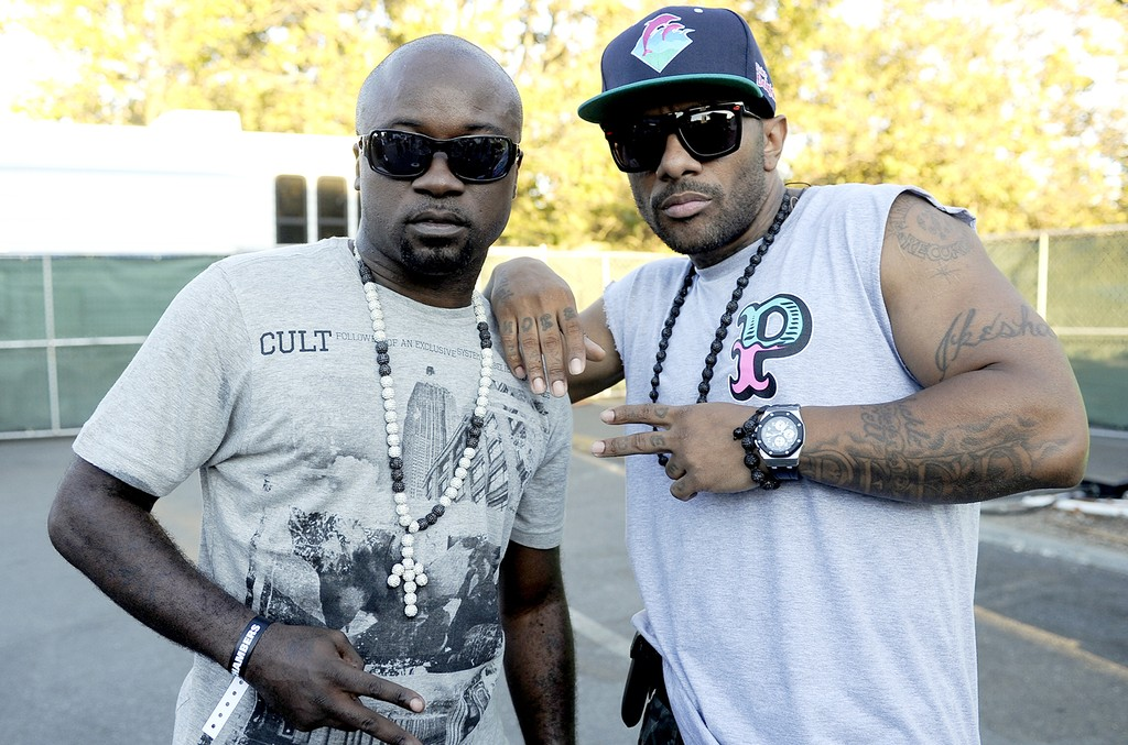 Havoc and Prodigy of Mobb Deep at Shoreline Amphitheatre on Aug. 27, 2011 in Mountain View, Calif.