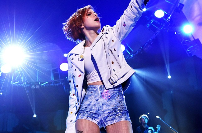 Hayley Williams of Paramore at iHeartRadio 2014
