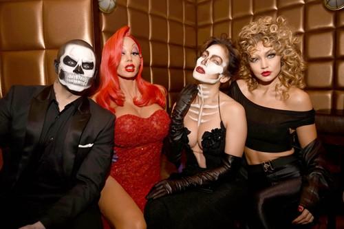 Casper Smart, Heidi Klum, Jennifer Lopez, Gigi Hadid