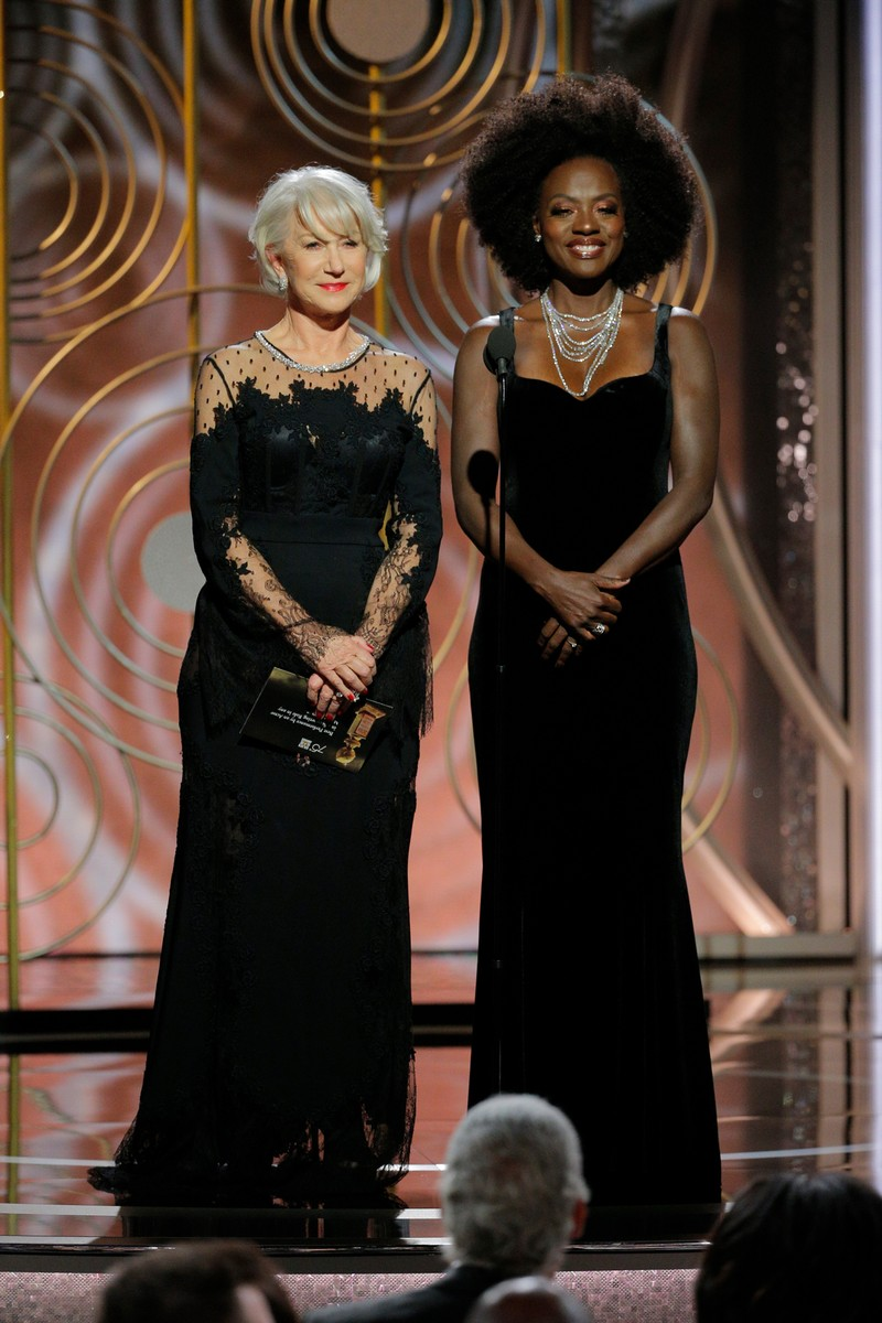 Helen Mirren & Viola Davis, 2018
