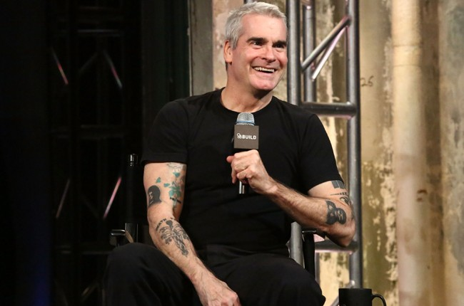Henry Rollins at AOL Studios in New York City