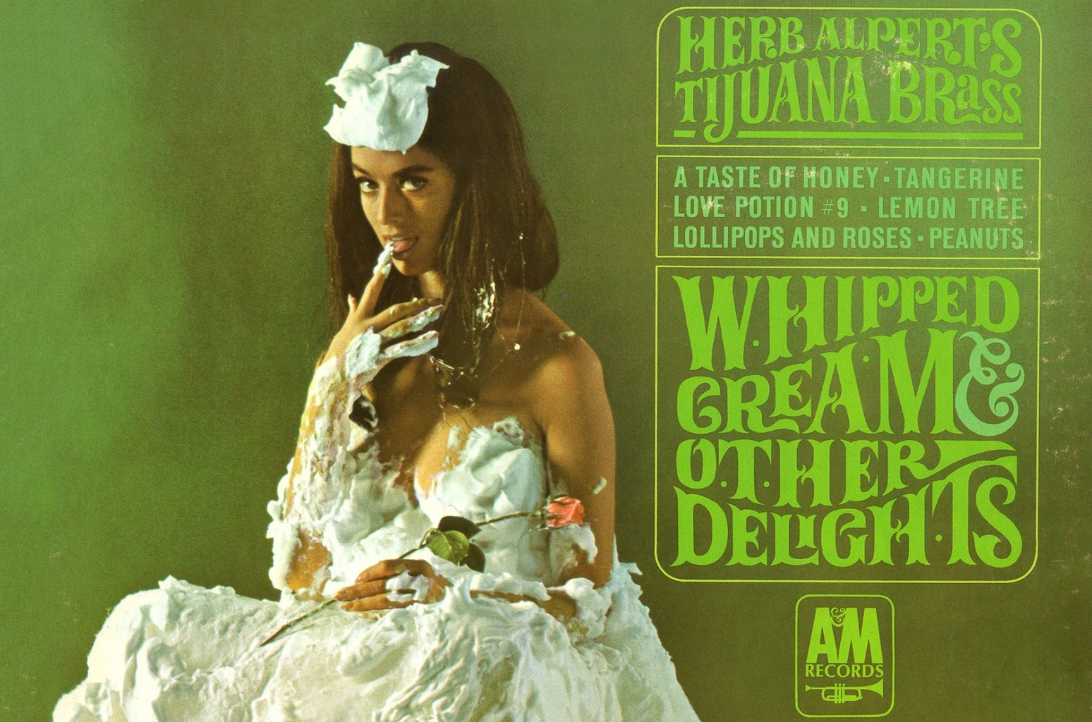The Real Story Behind Herb Alpert's Iconic 'Whipped Cream & Other Delights' Album Cover, 50 Years Later
