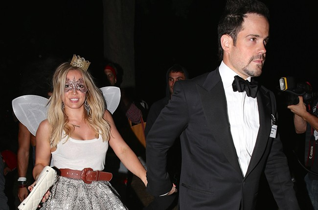 Hilary Duff and Mike Comrie seen at the Casamigos Halloween Party