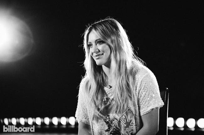 Hilary Duff photographed at Billboard's Chelsea, New York studio on June 17, 2015.