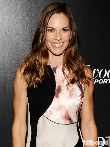 Hilary Swank attends The 35 Most Powerful People in Media hosted by The Hollywood Reporter