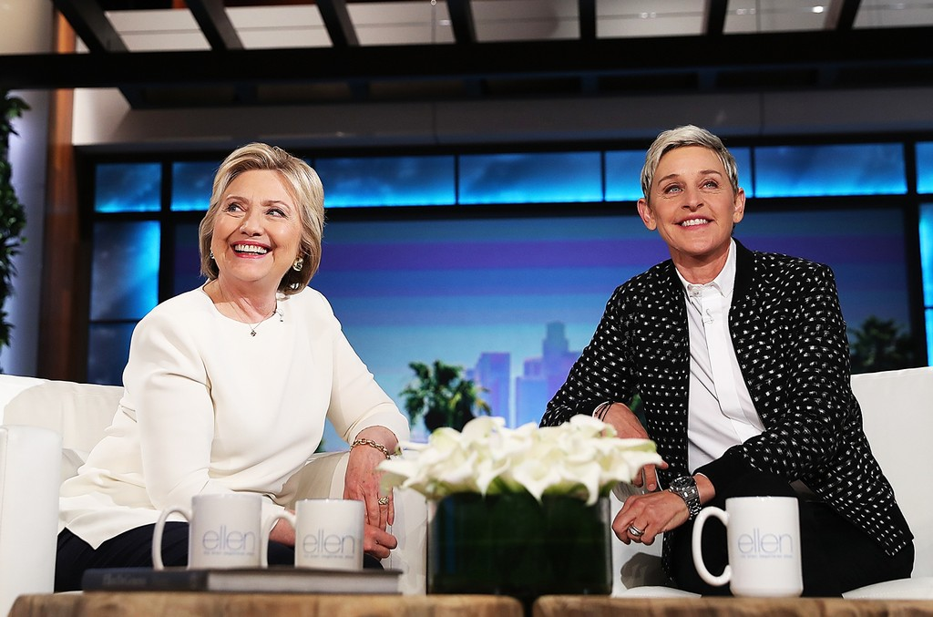 Hillary Clinton Talks 'Lemonade' on 'Ellen'=