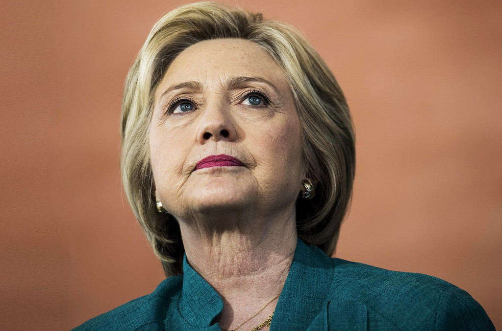 Hillary Clinton photographed on June 4, 2016