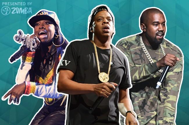 Missy Elliott Jay Z Kanye West