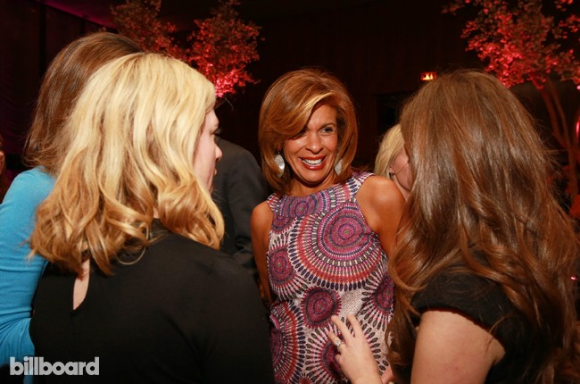 Hoda Kotb attends The 35 Most Powerful People in Media hosted by The Hollywood Reporter