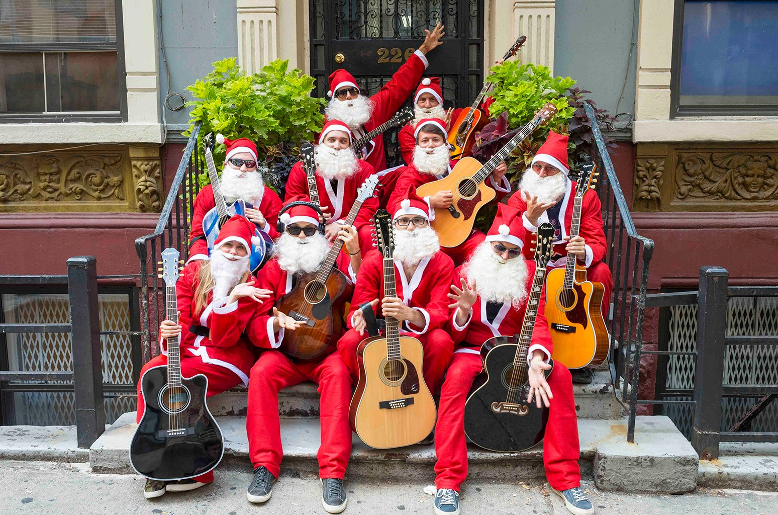 Band of Merrymakers - Tyler Glenn (Neon Trees), Lisa Loeb, Mark McGrath, Constantine Maroulis and more