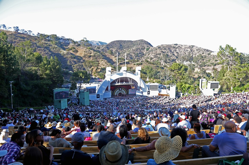 Hollywood Bowl in California