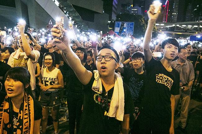 Hong Kong Protest, 2014.