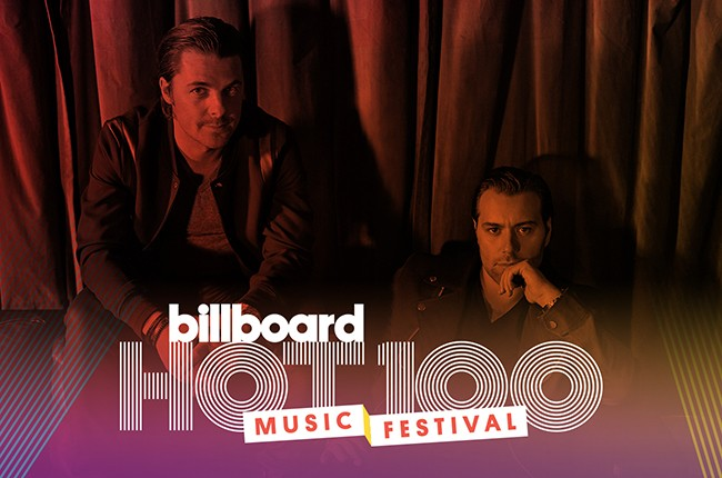 Axwell^Ingrosso to perform at Billboard's 2015 Hot 100 Festival.