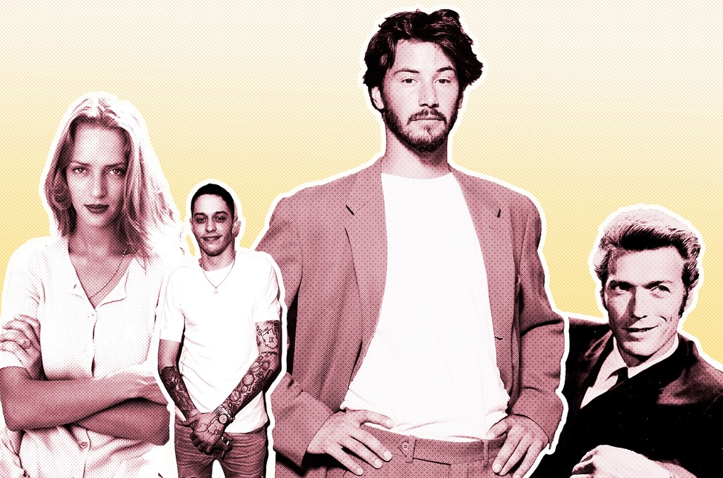 Uma Thurman, Pete Davidson, Keanu Reeves & Clint Eastwood