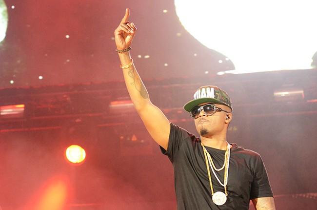 Nas performs at Hot 97 Summer Jam 2014