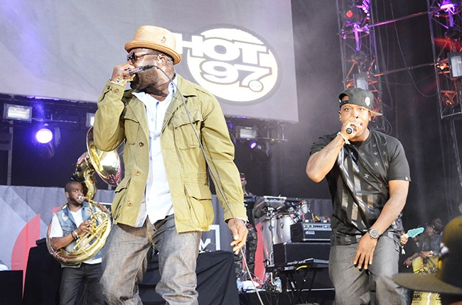 The Roots perform at Hot 97 Summer Jam 2014