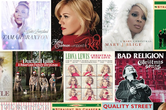 10 Hot Holiday Albums 2013