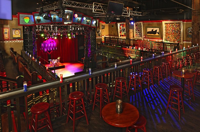 House of Blues in Anaheim, Calif.